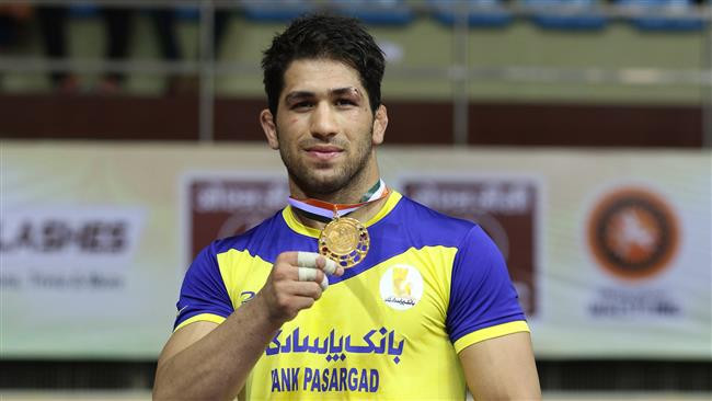 Hossein Ahmad Nouri was one of two Iranian wrestlers to win gold in Bishkek ©Iranian Wrestling Federation