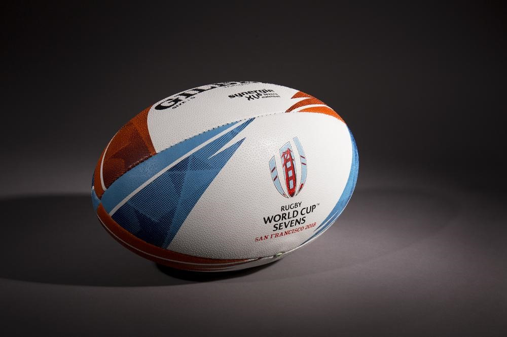 The new ball is designed specifically for the sevens game ©World Rugby
