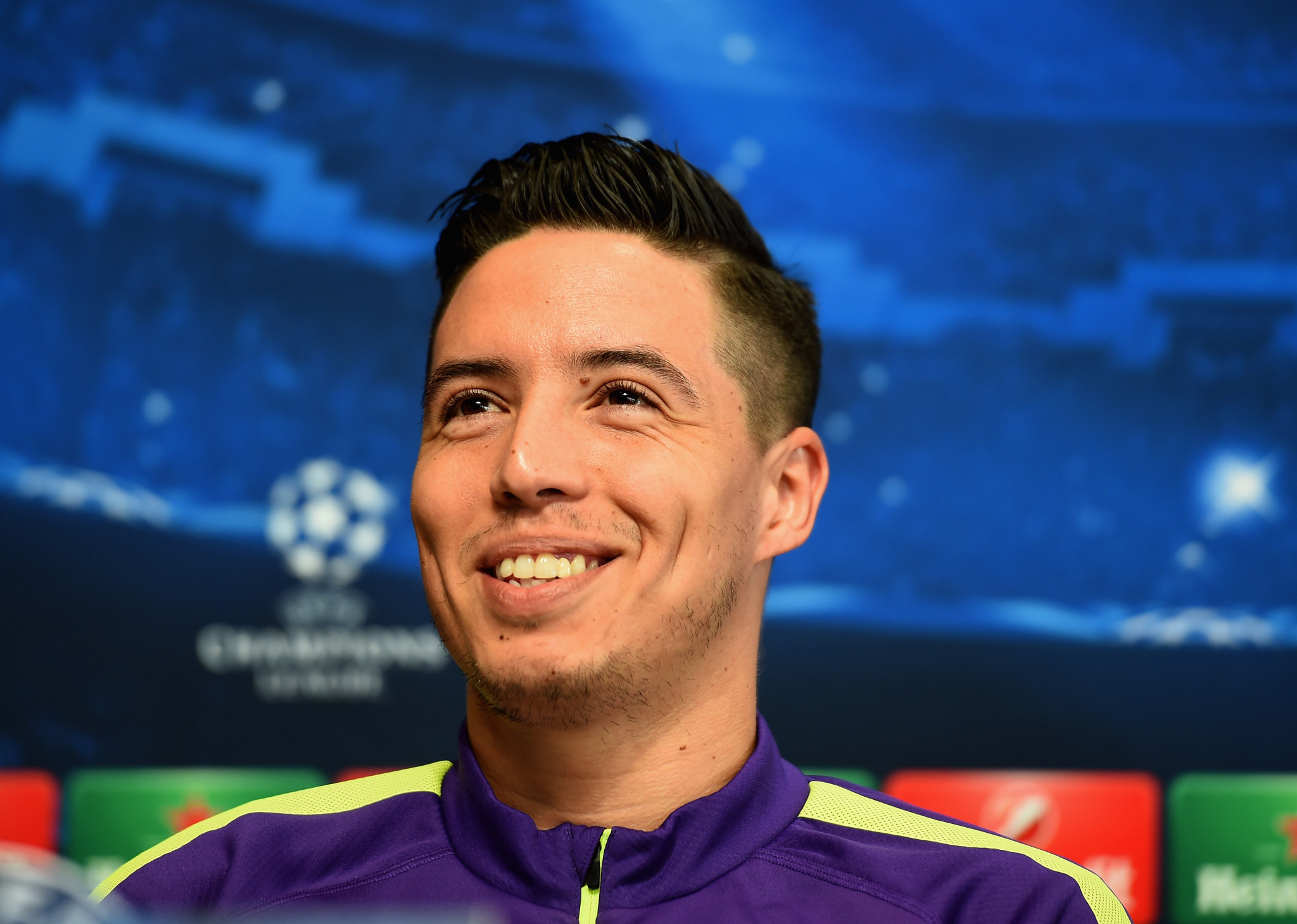 UEFA Hit France's Samir Nasri With Six-Month Doping Ban