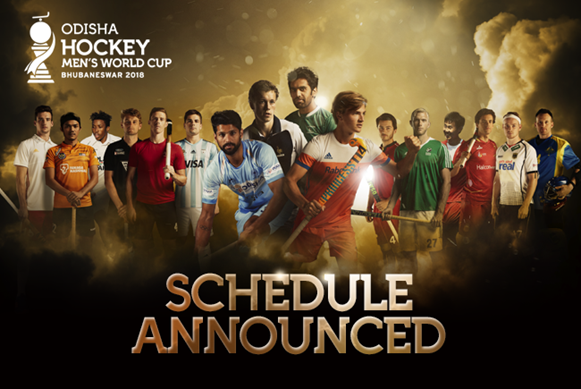 International Hockey Federation confirm draw and schedule for 2018 Men's World Cup