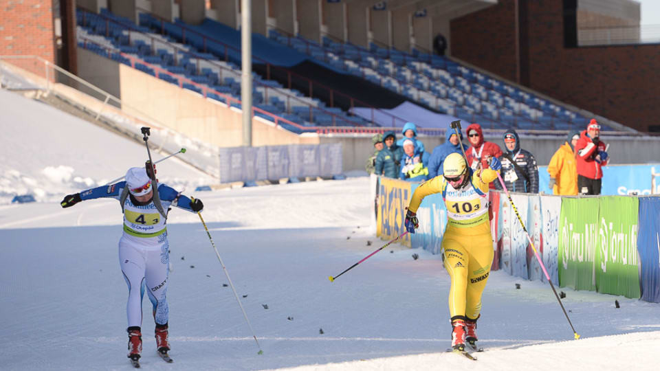 Oeberg wins second gold at IBU Youth/Junior World Championships as Sweden clinch relay title