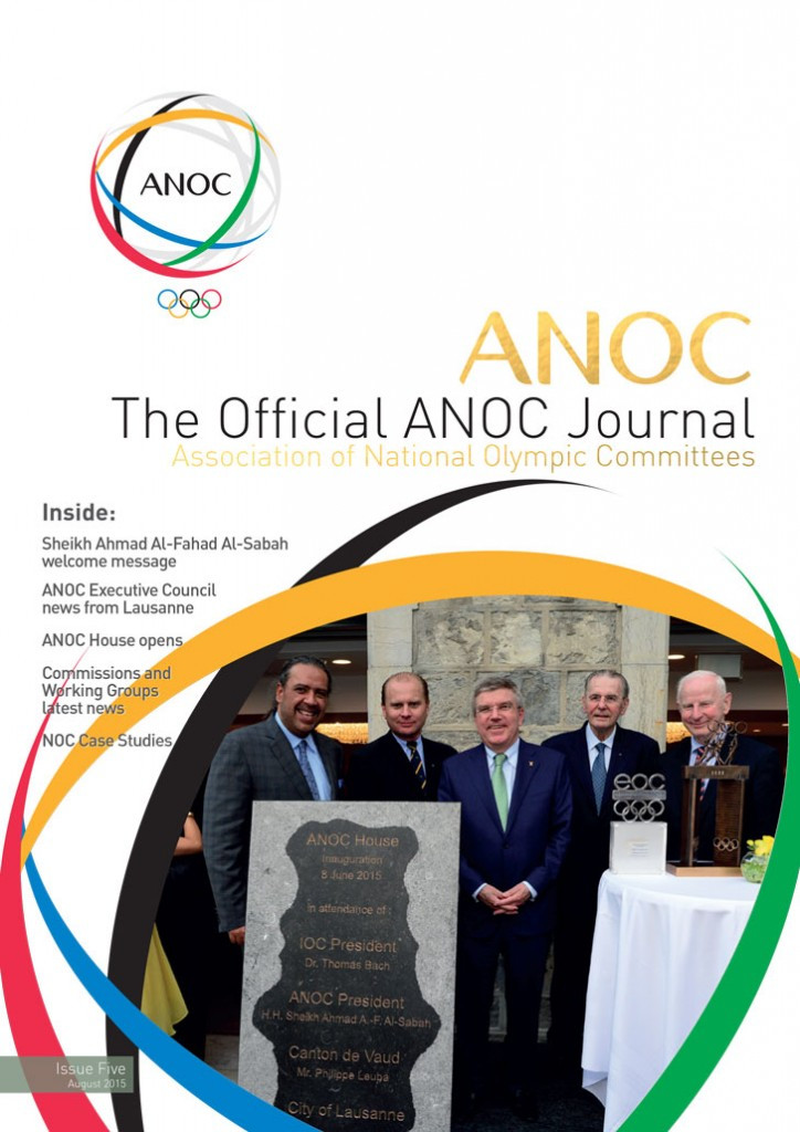 The Official ANOC Journal - Issue 5