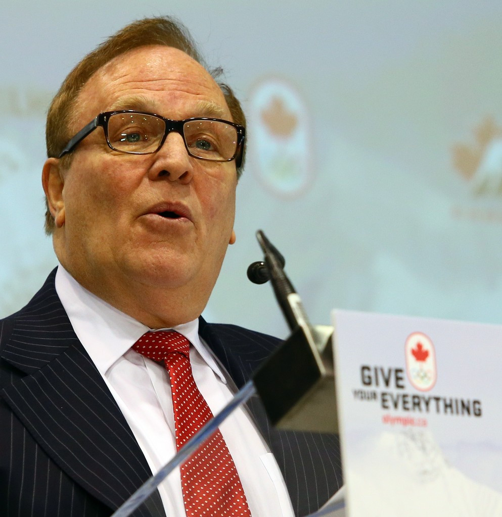 Macel Aubut has resigned as President of the Canadian Olympic Committee ©COC