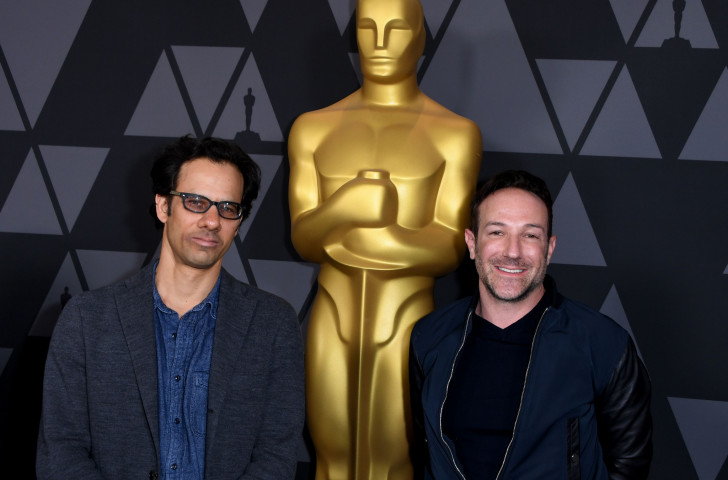 Bryan Fogel, right, and Dan Cogan, the team behind Icarus ©Getty Images