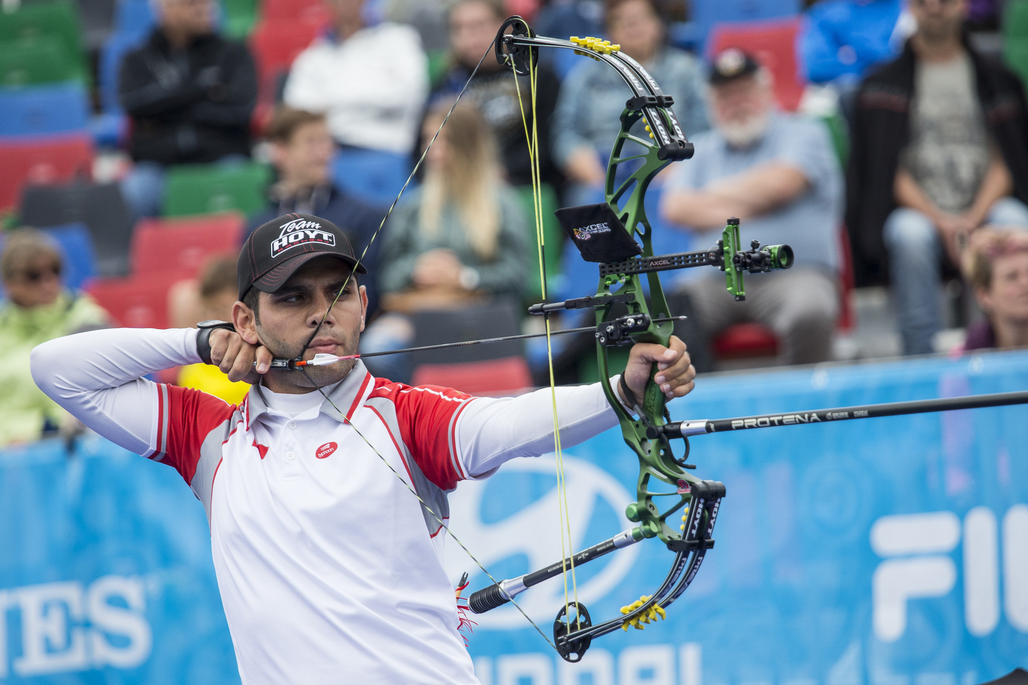 Demir Elmaagacli won the Archery World Cup title in 2015 ©Getty Images
