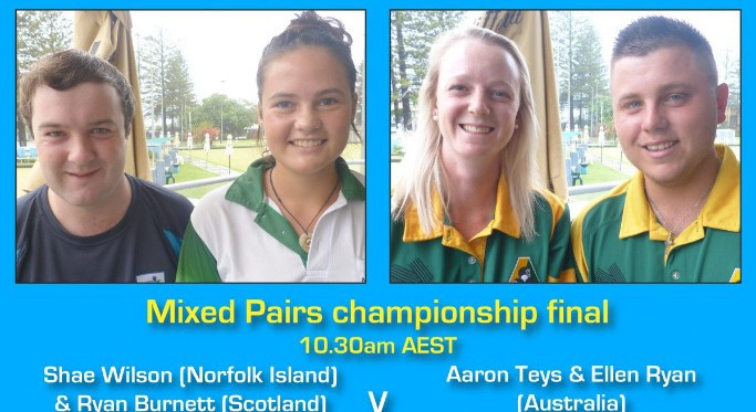 Finals decided at World Youth Bowls Championships