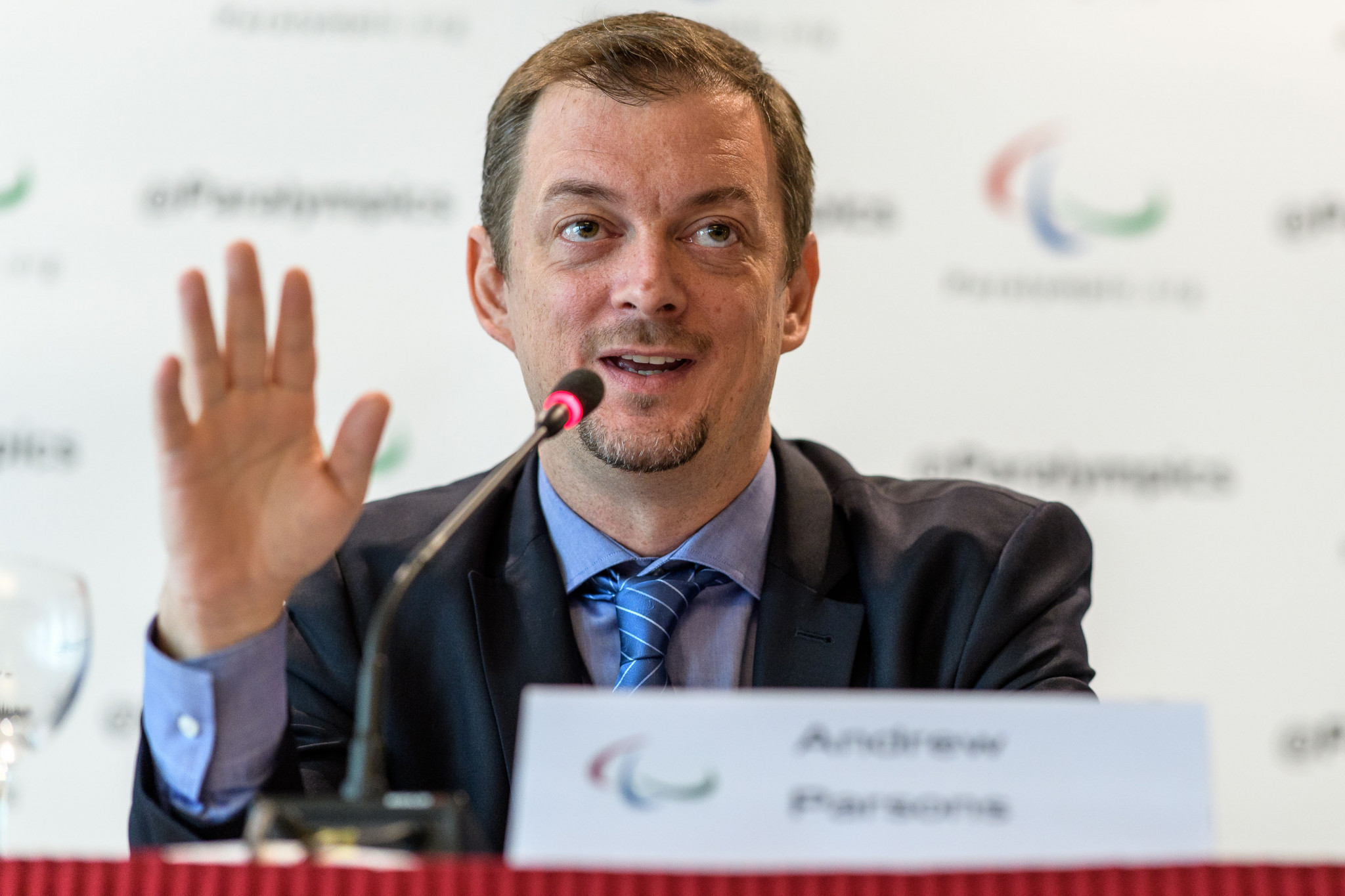 IPC President Andrew Parsons is likely to visit the IPC Academy Campus in Pyeongchang ©Getty Images