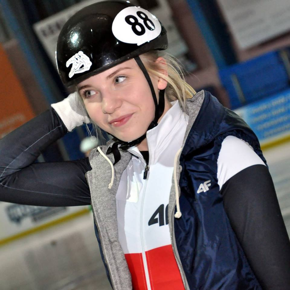 Kamila Stormowska will be hoping to perform well on home ice ©Kamila Stormowska/Facebook