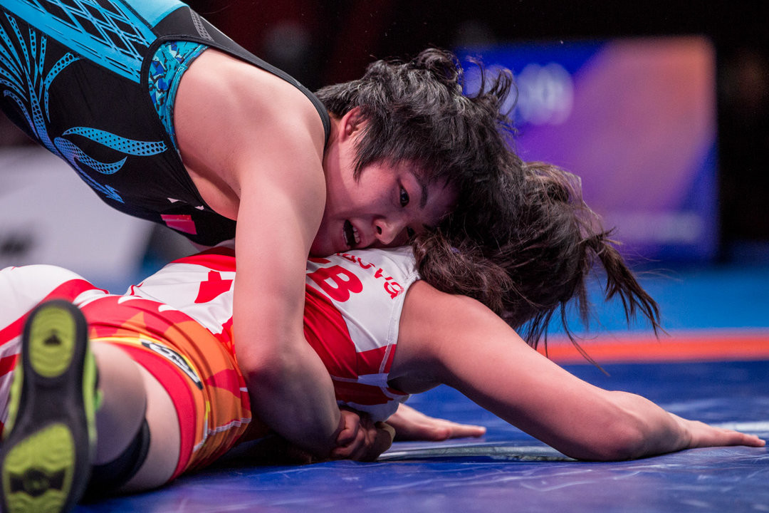 China claimed four of the five gold medals on offer ©UWW