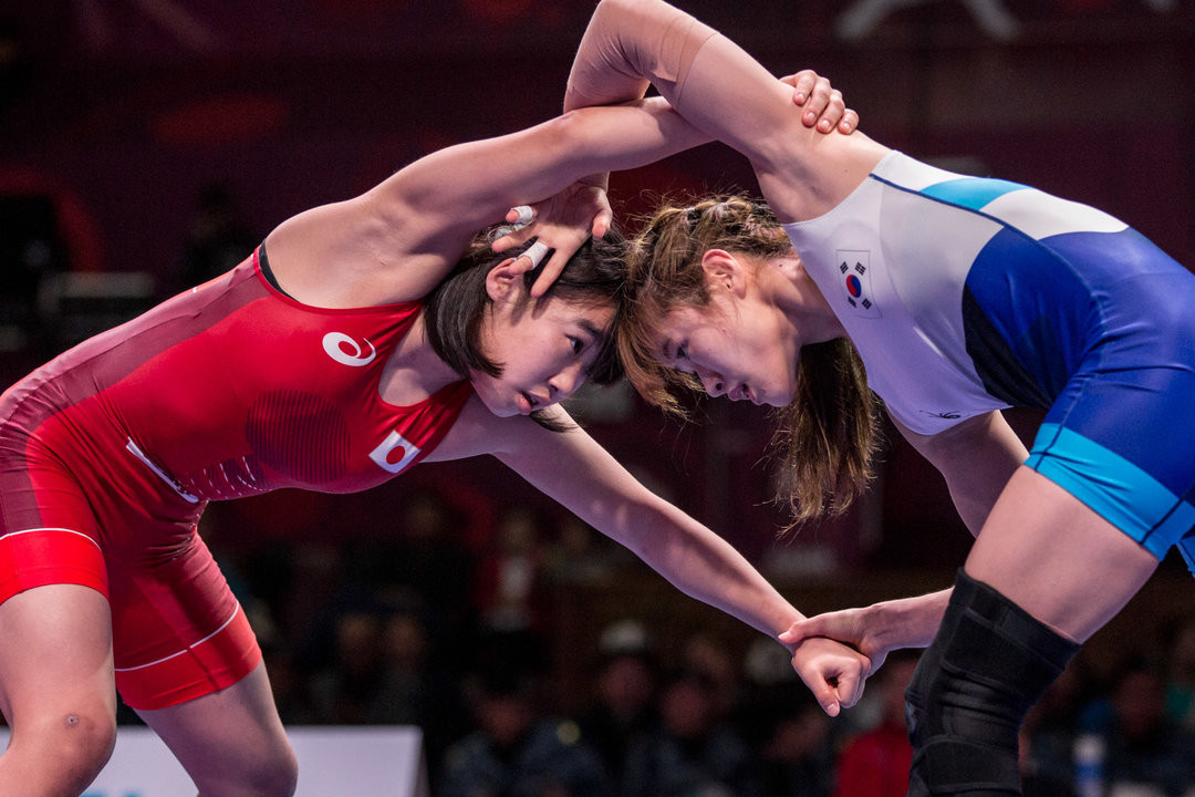 Japanese teenager Saki Igarashi earned women's 55kg gold ©UWW