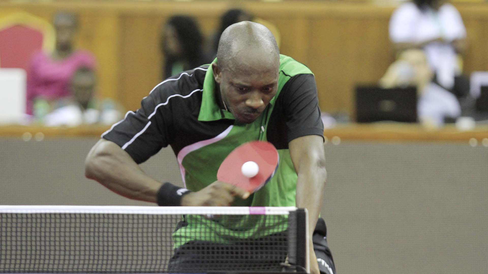 Assar and toriola progress on opening day of ittf africa - African table tennis federation ...