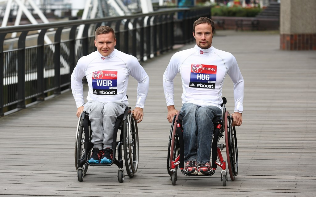 Weir aiming to overcome rival Hug and seal record seventh London Marathon crown