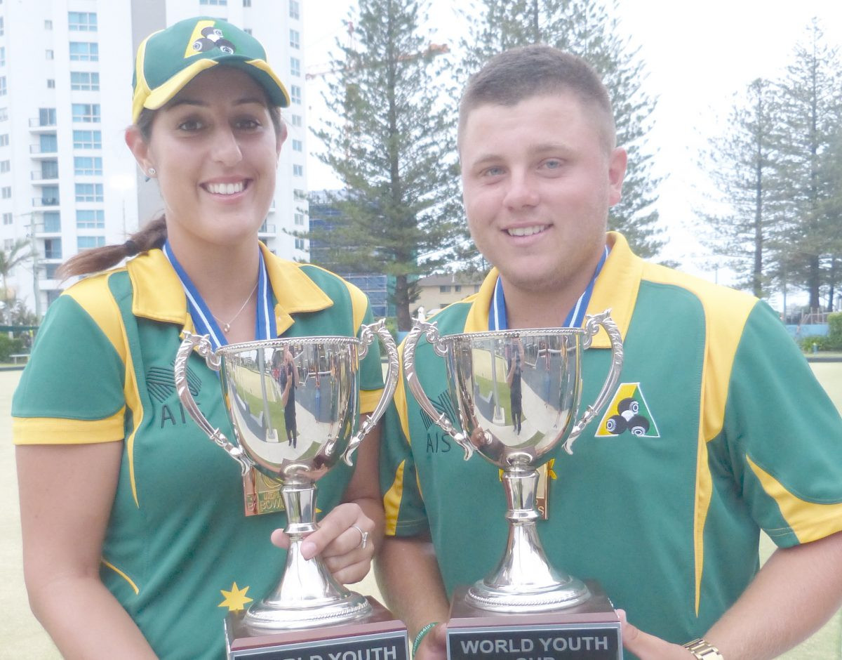 Three out of three home wins for Australia at World Youth Bowls Championships