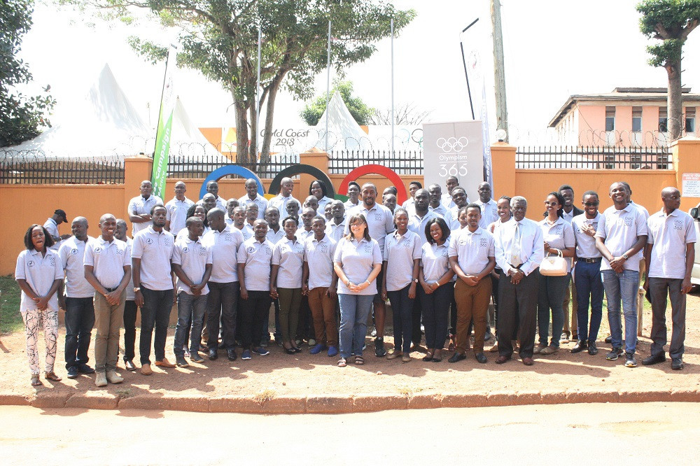 Olympism 365 has been launched in Uganda ©UOC