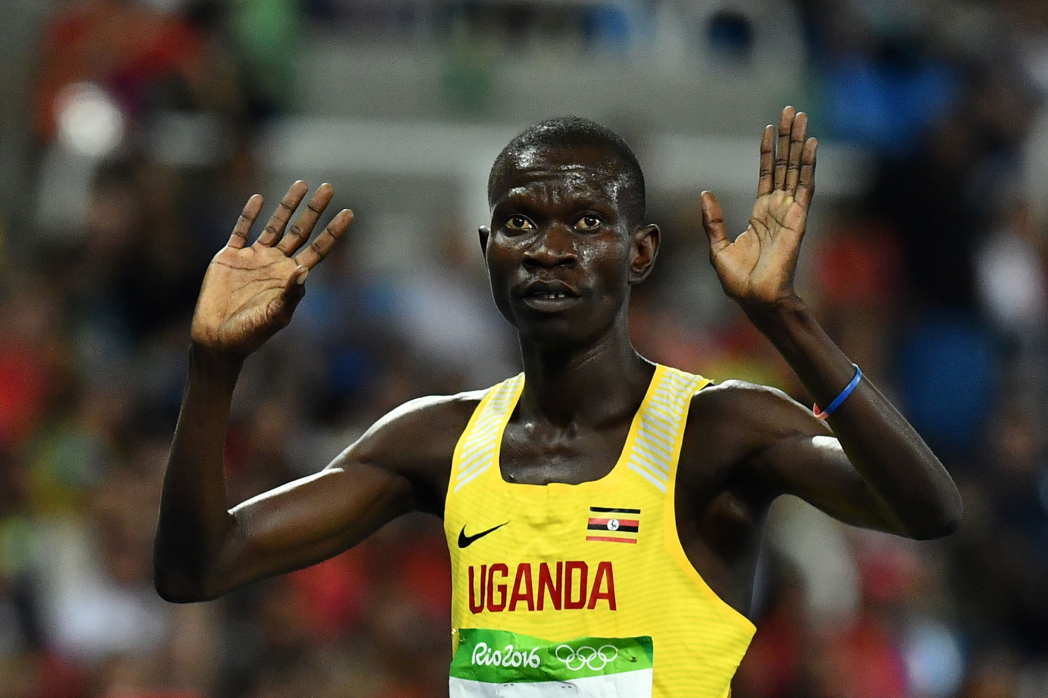 The aim of the project is to install Olympic values into Ugandan athletes from a young age ©Getty Images