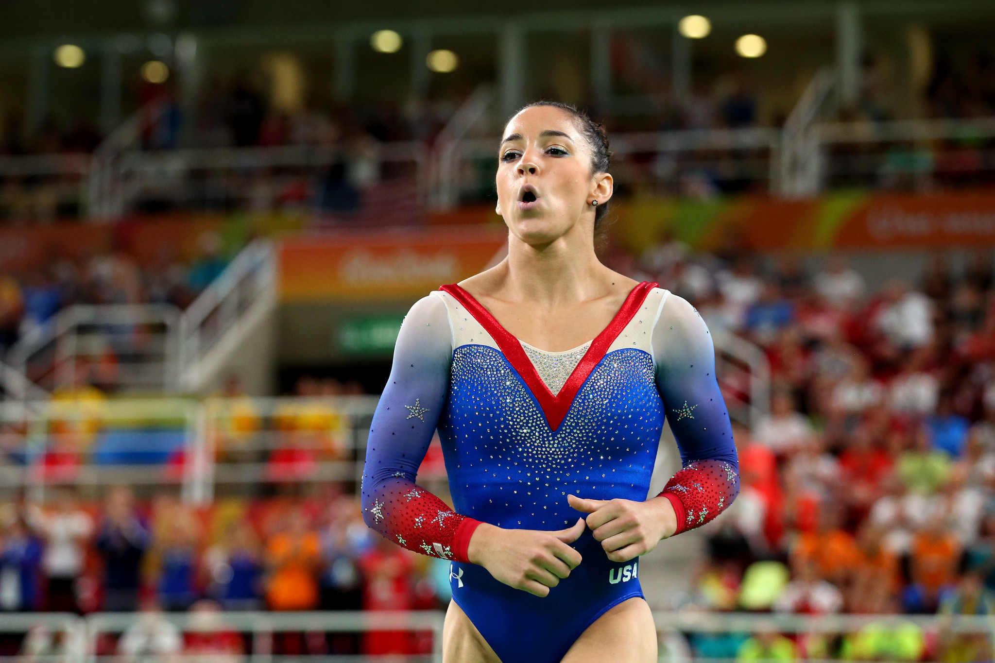 Raisman sues USOC and USA Gymnastics over Nassar scandal, report says