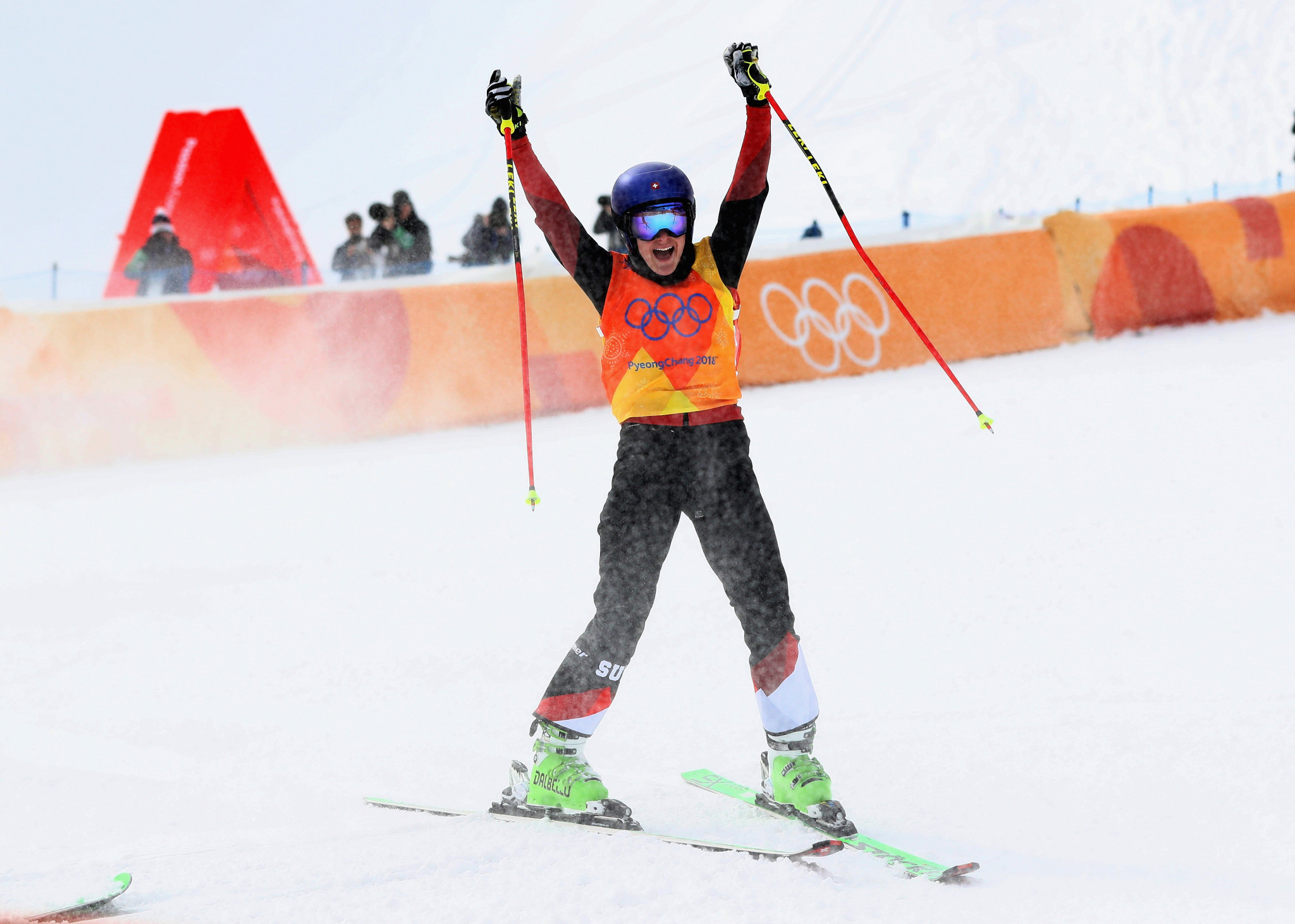Olympic bronze medallist Smith leads women's Ski Cross World Cup qualifiers in Russia