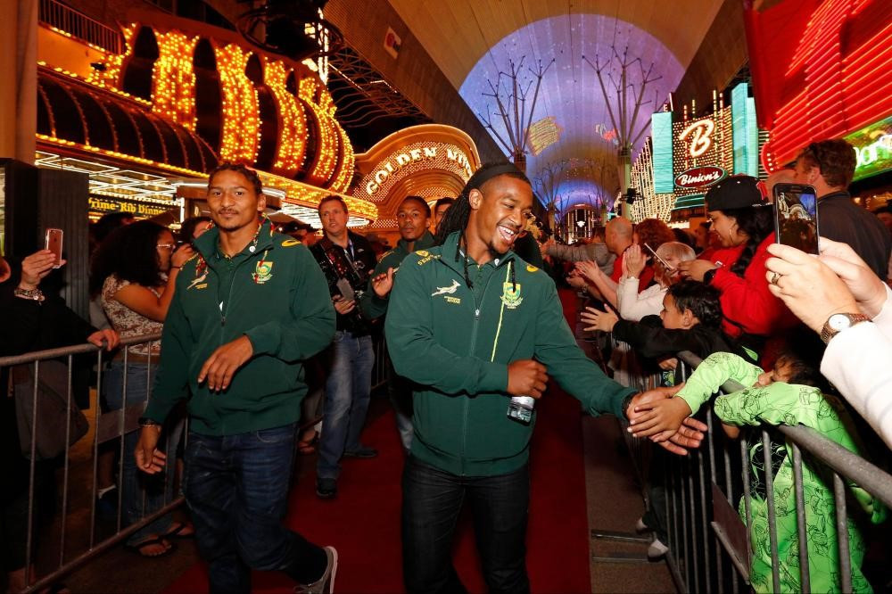 Parade of Nations begins World Rugby Sevens Series leg in Las Vegas