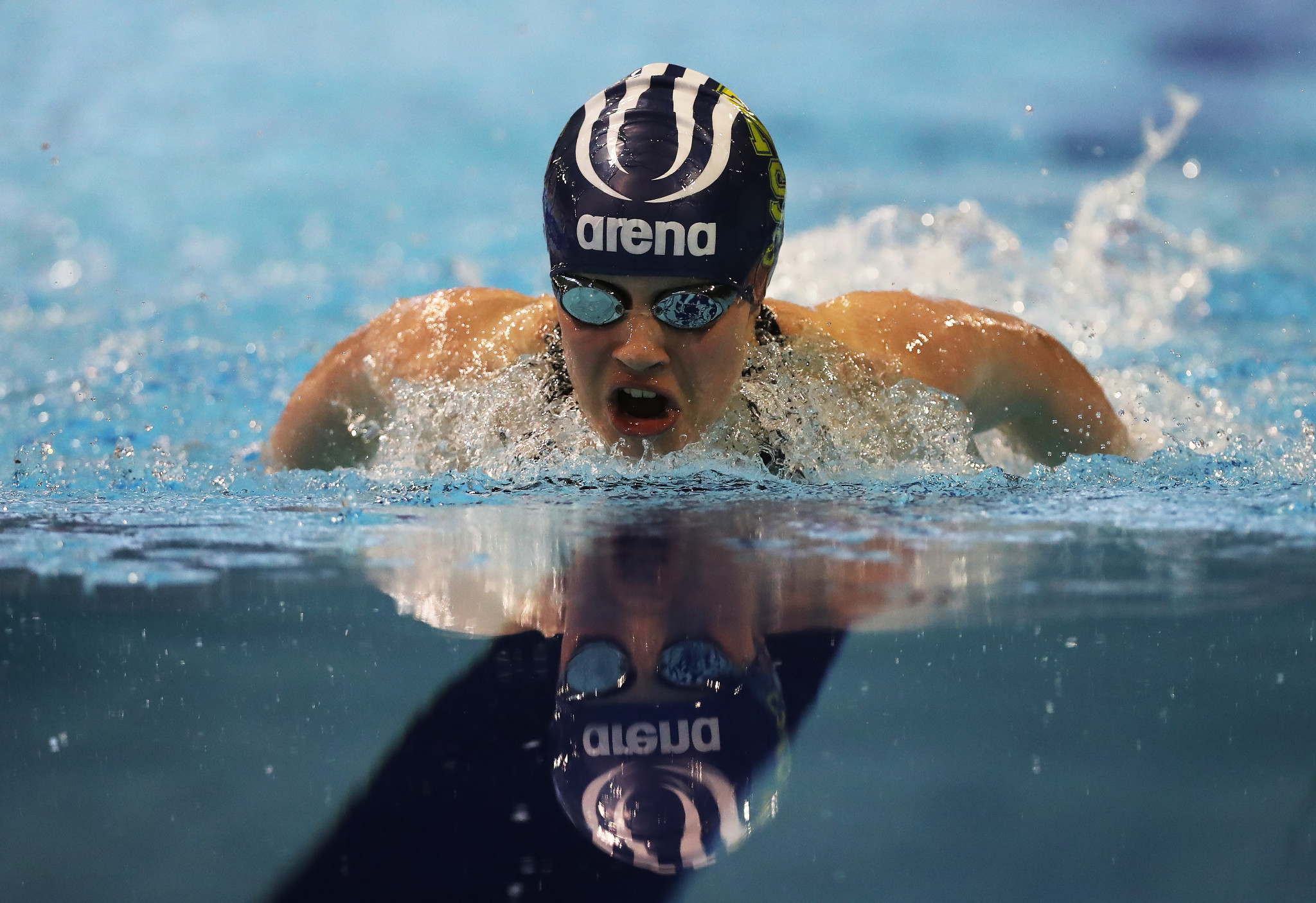 Robinson impresses on opening day of World Para Swimming World Series in Copenhagen