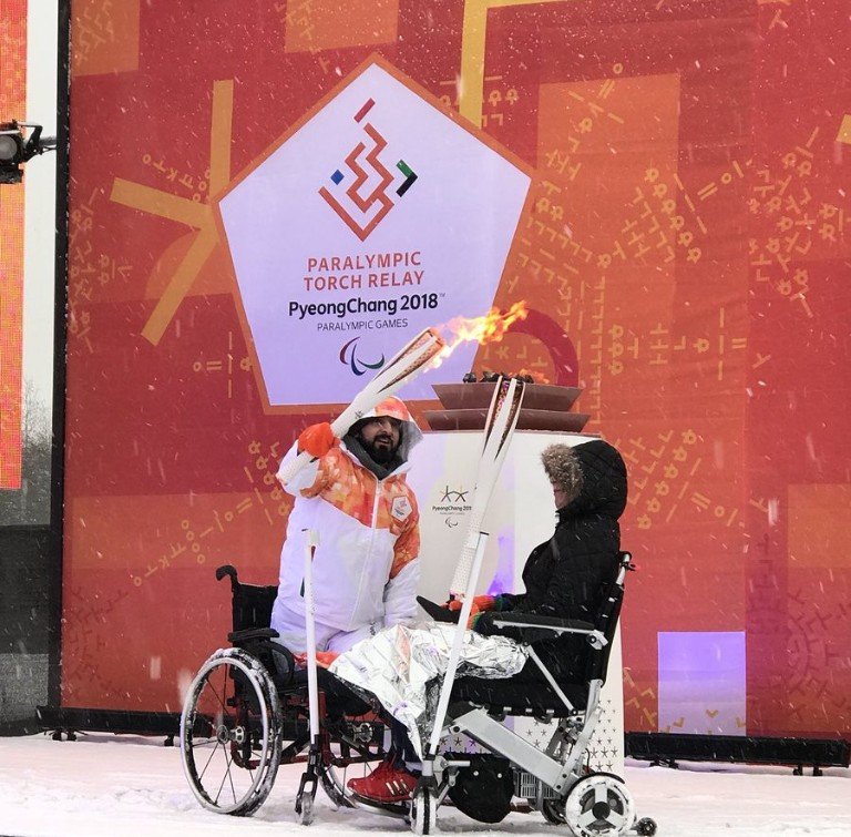 Paralympic Heritage Flame lit with one week to Pyeongchang 2018