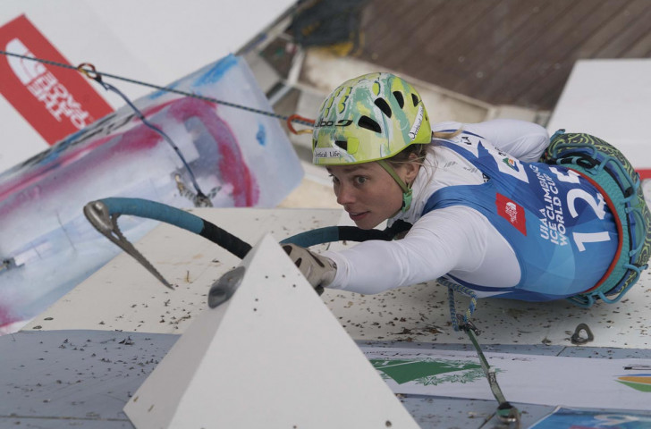 Marianne Van Der Steen of The Netherlands will attempt to stem Russia's domination in the concluding World Cup of the UIAA Ice Climbing tour in Kirov ©Getty Images
