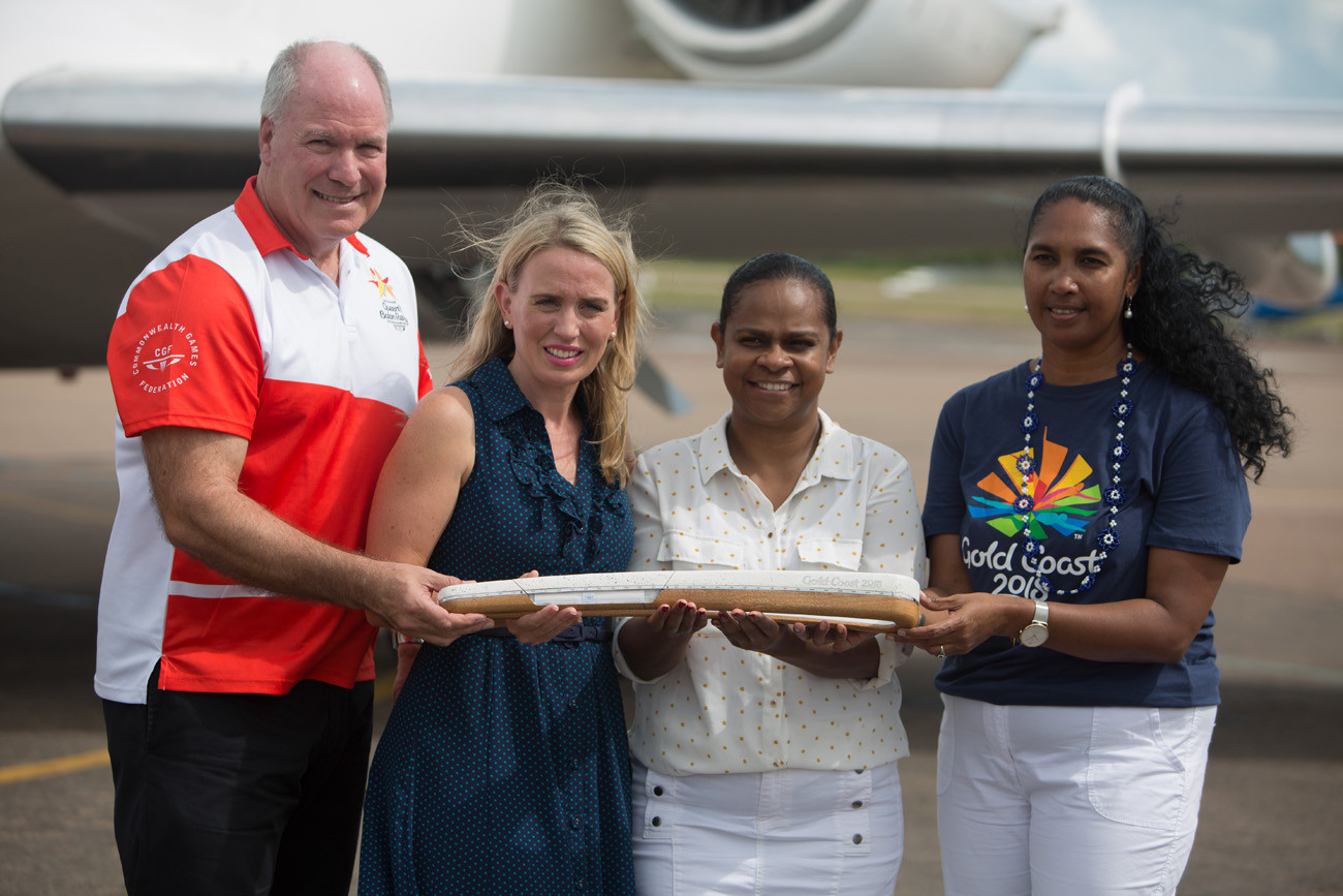Queen's Baton Relay for Gold Coast 2018 enters home stretch as arrives in Queensland
