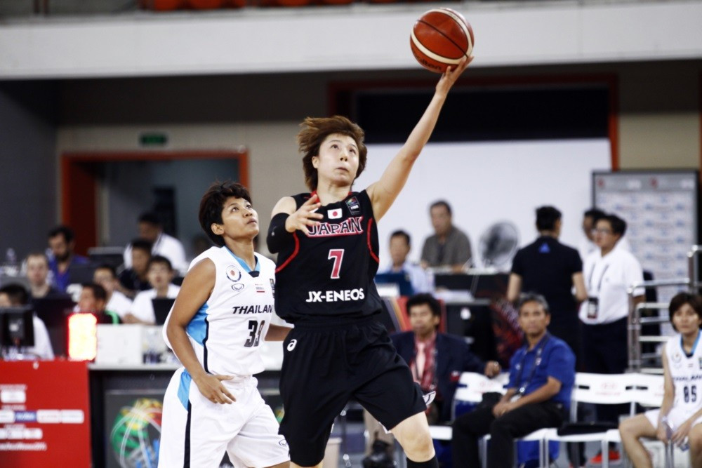 Japan qualify for semi-finals of FIBA Asia Women's Championship with 100 per cent record