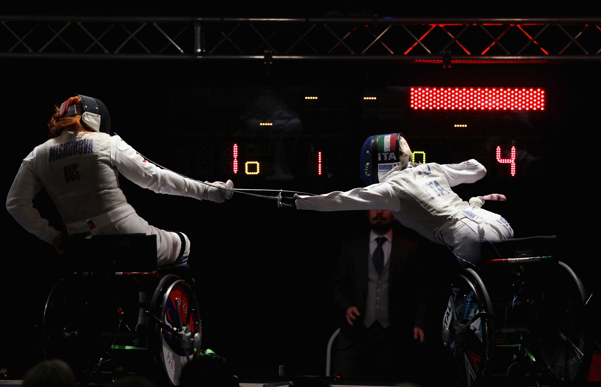 It is hoped the focus on the development of wheelchair fencing will have similar success to other schemes in the country in sports such as wheelchair basketball, swimming and athletics ©Getty Images