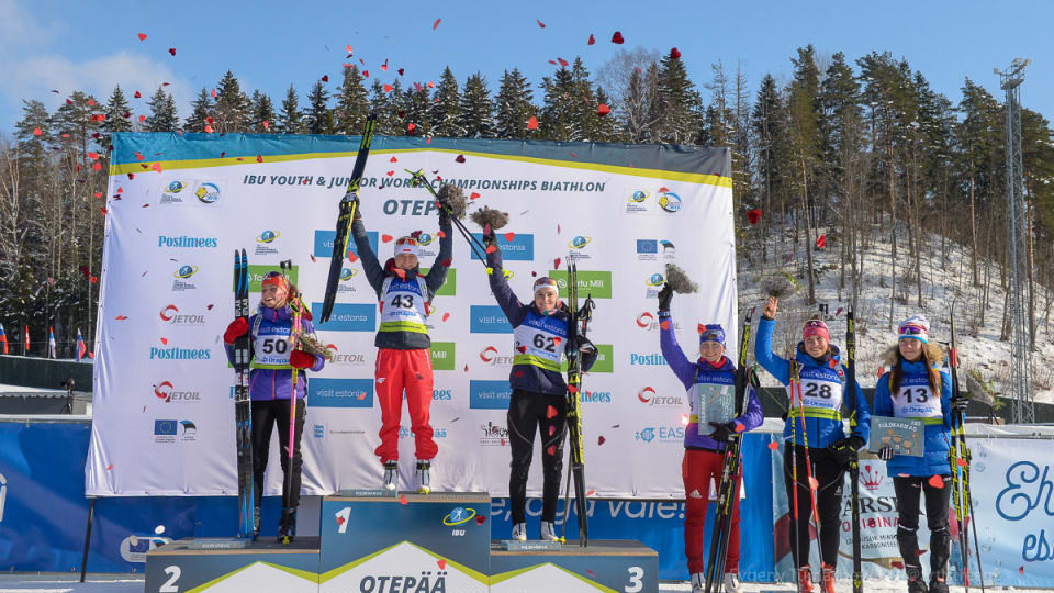 Zuk wins sprint title to claim second gold medal at IBU Youth/Junior World Championships