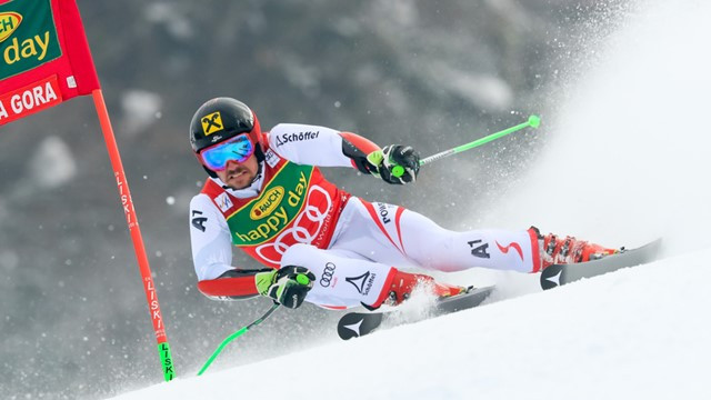 Hirscher wins overall World Cup title after slalom success