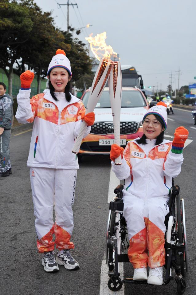 Jeju was among the cities in South Korea the Paralympic Torch visited before being combined into a single flame during a special ceremony in Seoul ©Pyeongchang 2018