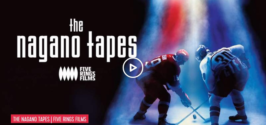 The first major feature-length documentary produced by the Channel, the Nagano Tapes, premiered this week ©Olympic Channel