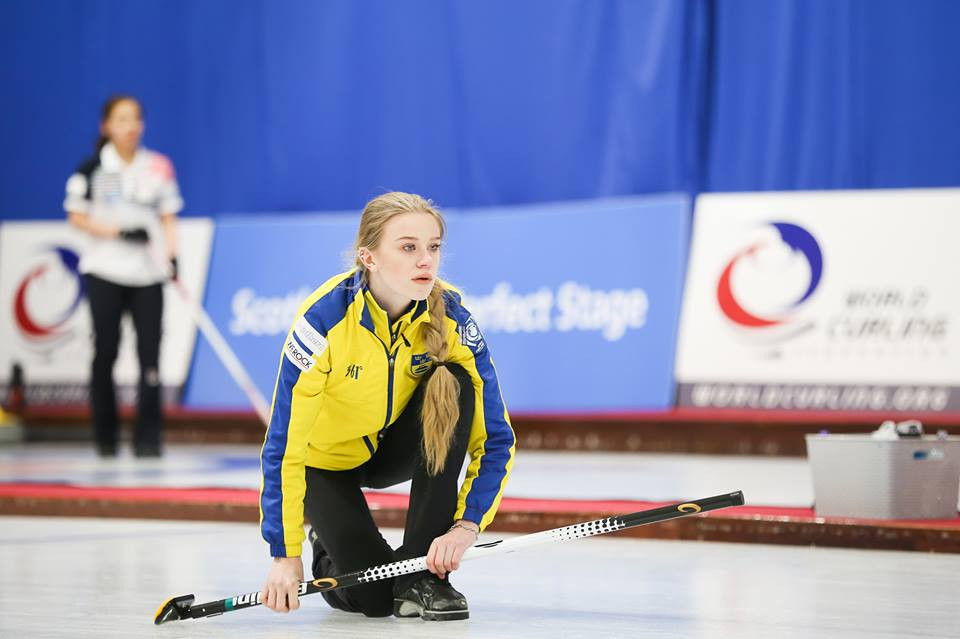 Defending champions Sweden won their opening two matches of this year's World Junior Curling Championships in Aberdeen ©WCF