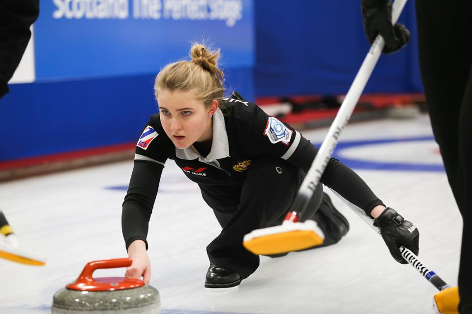 Russia are unbeaten after the first set of round robin matches at the World Junior Curling Championships ©WCF