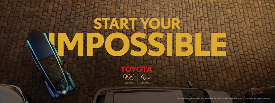 Toyota is a world Paralympic partner and member of the International Olympic Committee TOP sponsorship programme ©Toyota