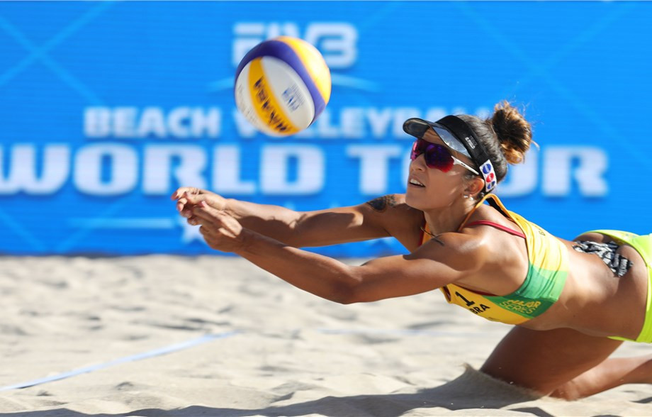Seixas and Alves win Brazilian final at FIVB World Tour in Fort Lauderdale