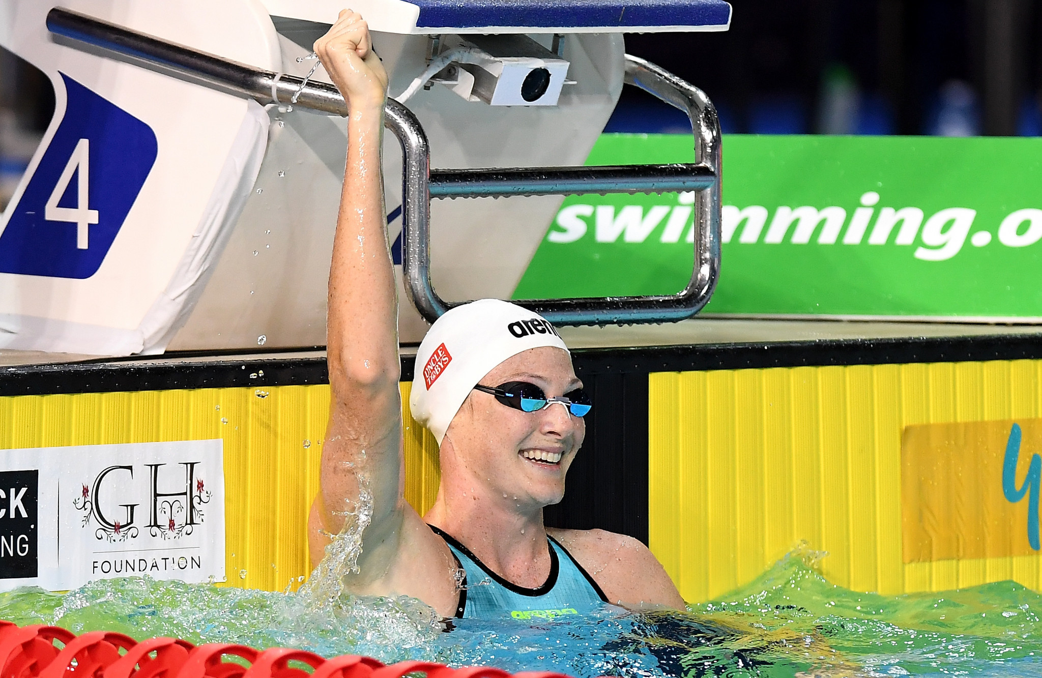 Campbell and Chalmers lead Australian swimming team for Gold Coast 2018