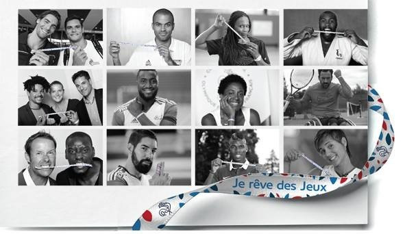 High profile ambassadors such as judoka Teddy Riner and footballer Paul Pogba are supporting the campaign ©Facebook/France Olympique