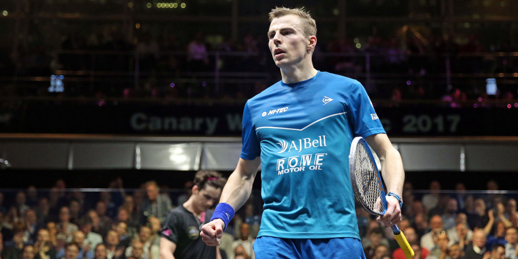 Defending champion Matthew withdraws on eve of PSA Canary Wharf Classic