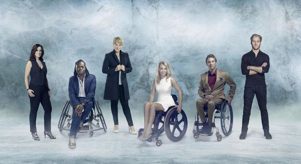 Clare Balding, third left, will lead Channel 4's coverage of the Pyeongchang 2018 Paralympic Games ©Channel 4