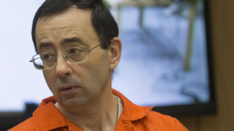 A male gymnast has accused disgraced doctor Larry Nassar of abuse ©Getty Images
