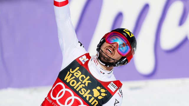 Hirscher earns seventh consecutive overall FIS Alpine Ski World Cup title with slalom win at Kranjska Gora