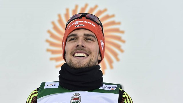 Germany's Johannes Rydzek continued his good form at the FIS Nordic Combined World Cup in Lahti, the Finnish venue where he won four World Championship gold medals last year ©FIS