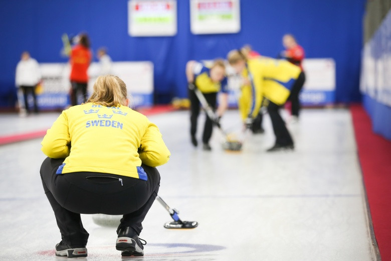 Sweden remain unbeaten in the women's competition ©WCF