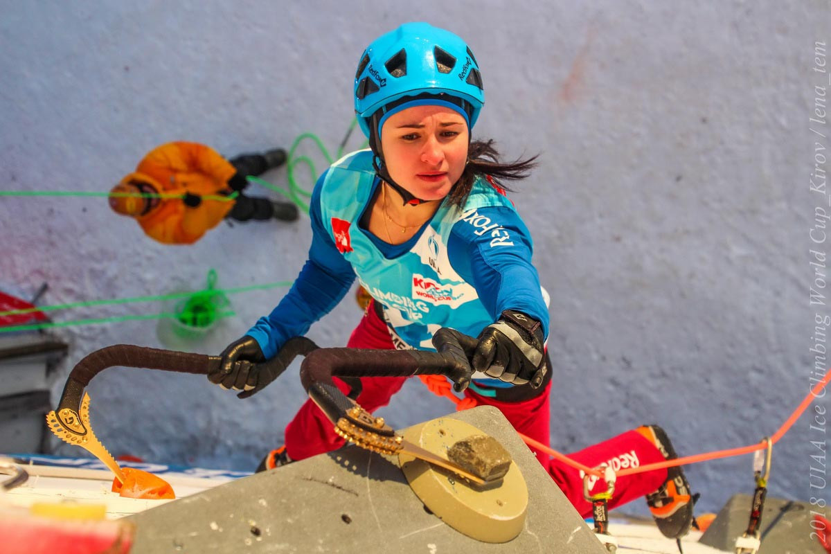 Russians rule final UIAA Ice Climbing World Tour event in Kirov