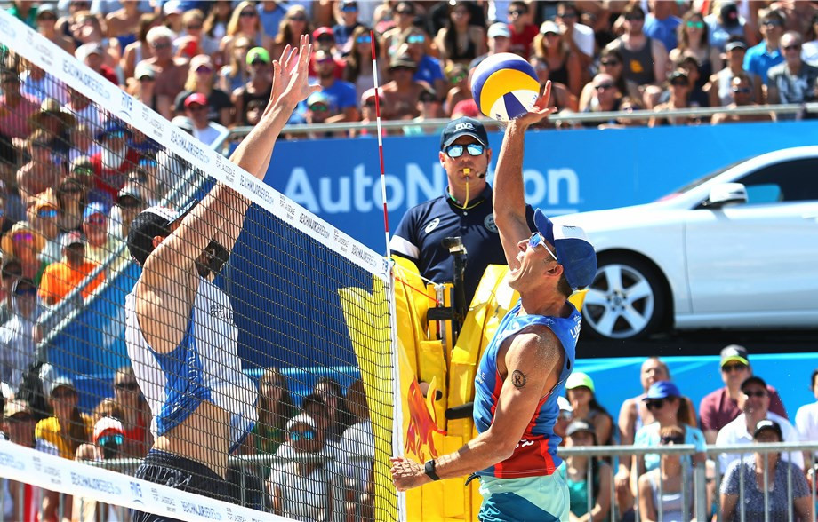 American duo finally win FIVB Beach World Tour title on home sand in Fort Lauderdale