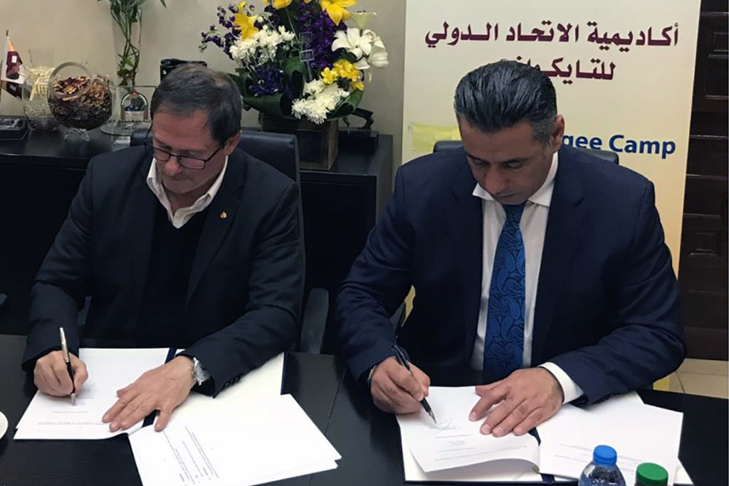 THF enters partnership with Jordanian Taekwondo Federation