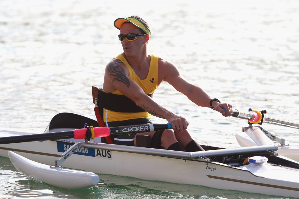 Horrie earns hat-trick of world Para men's single sculls titles in Aiguebelette