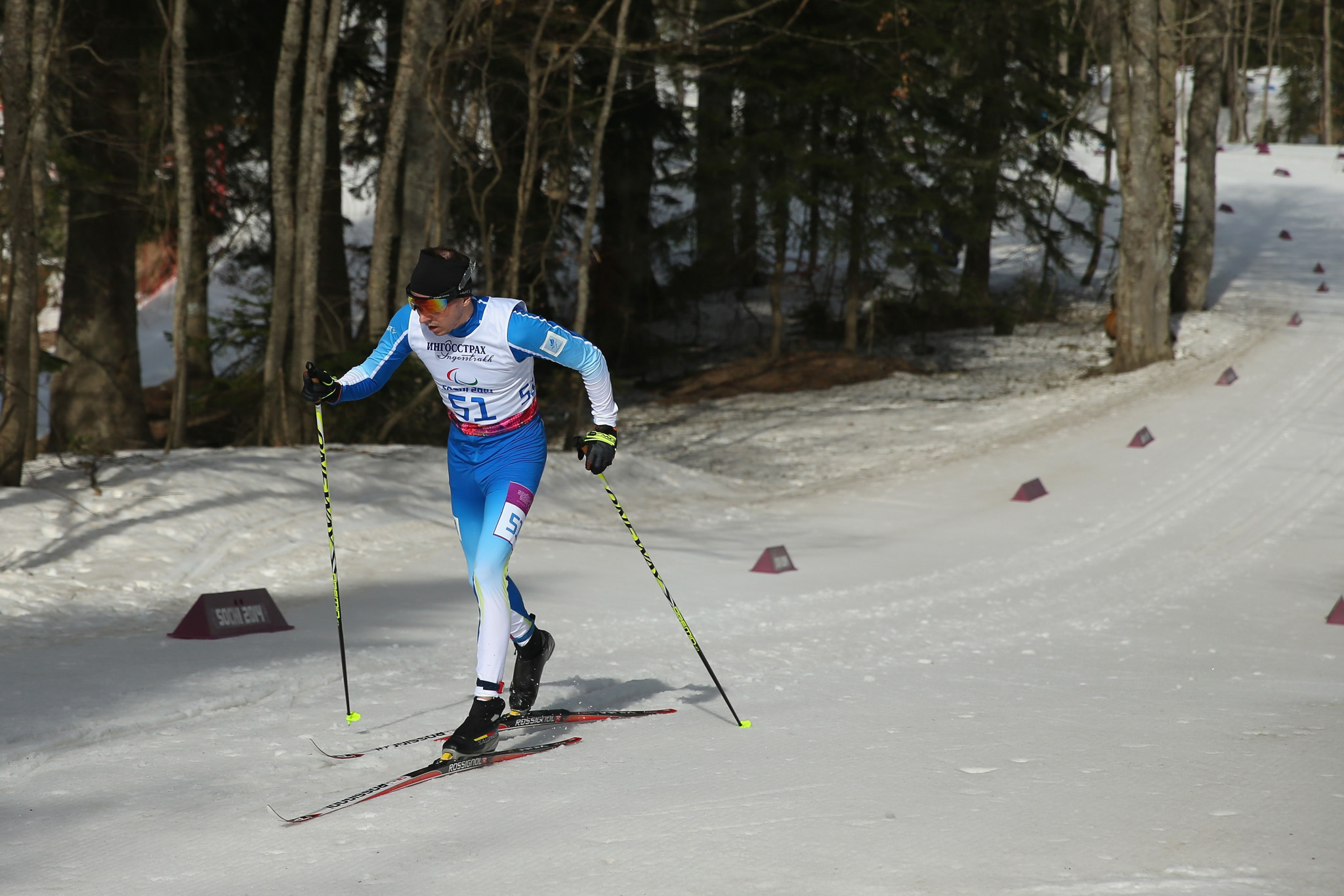 Nordic skier Rudolf Klemetti of Finland is also in contention ©Getty Images