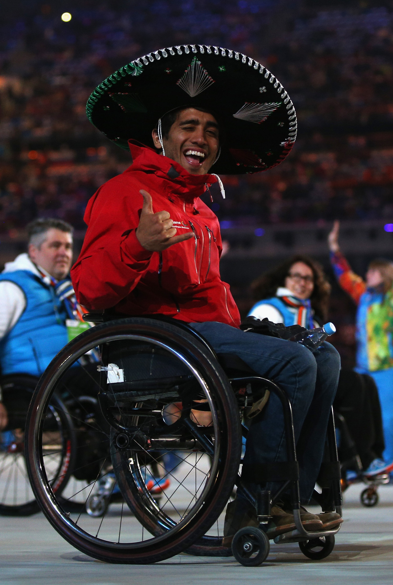 Arly Velasquez is one of 25 people who the IPC has chosen to video blog the upcoming Games  ©Getty Images